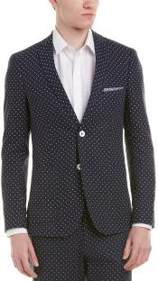 Polka Dot Suits - Black and White Suits