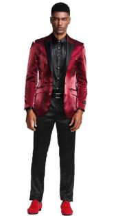 - Shiny Suit With