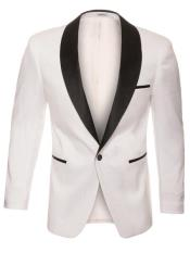 Snakeskin Blazer - Snakeskin Jacket White