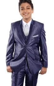 Boys Tuxedo + Boys Blue Suit