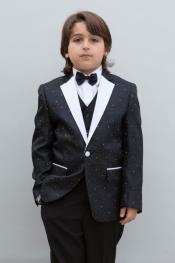 Boys Tuxedo + Boys Black Suit