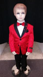 Boys Tuxedo + Boys Red Suit