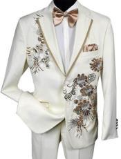 Gold Tuxedo Suit