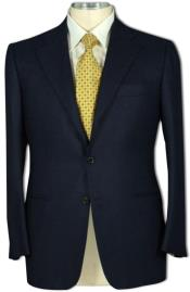 Mens 2 Button Style Jacket Super 100 Wool Business ~ Wedding