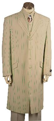 Fashionable 4 Button Long