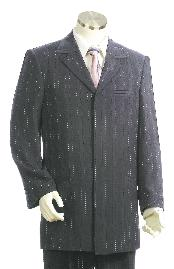 Stylish Grey pinstripe Zoot