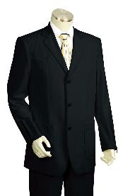 Fashion Black Zoot Suit