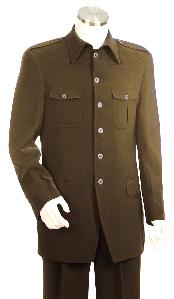 Luxurious Brown Zoot Suit