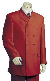 Luxurious Deep Red Zoot