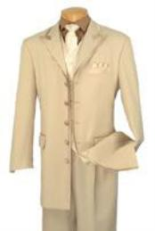 Suits 5 Button White