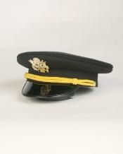 Black Cadet Hat $49