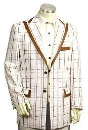 Exclusive White Pinstripe Fashion