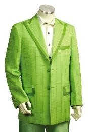 Fashion Zoot Suits lime