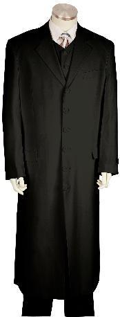 Fashionable Zoot Suit Black