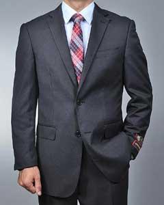Grey Nailhead 2-button Suit
