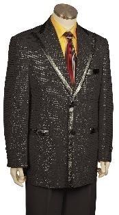 Stylish Zoot Suit Black