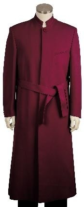Stylish Zoot suit Burgundy