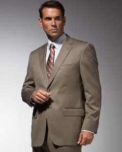 Taupe affordable suit online