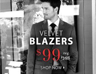Velvet Blazers