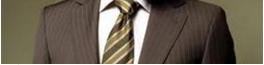 brown pinstripe suits