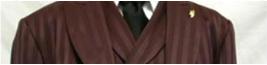 burgundy pinstripe suits