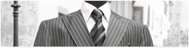 charcoal gray pinstripe suits
