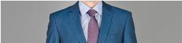 slim stripe suits