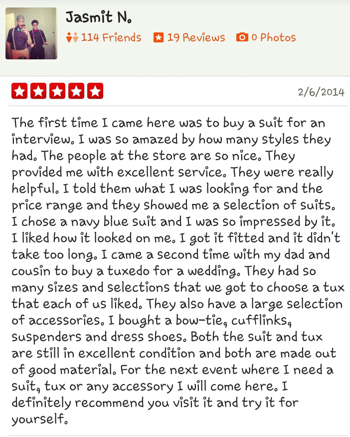 Customer Service Review by Jasmit