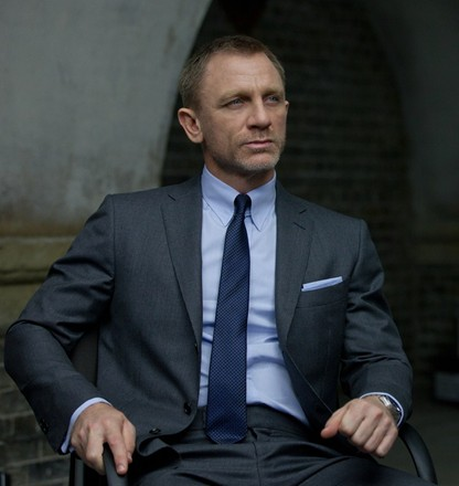 James Bond`s `Skyfall` suit up for auction | And More ... News |James Bond Suit Skyfall