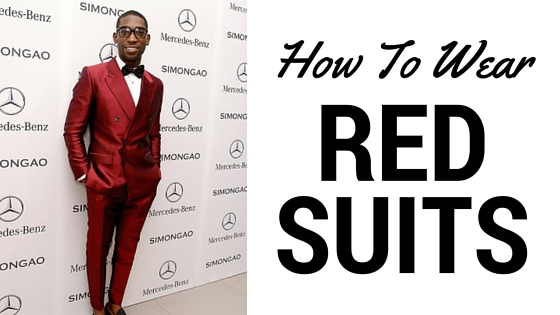 How To Wear Red Suits