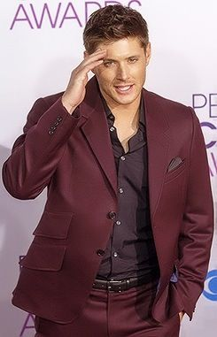 Red Suits - Jared Johnson in Deep Burgundy Red Suit