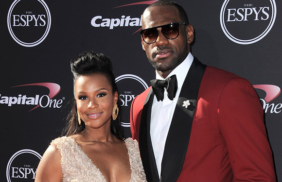 Red Suits - LeBron James in Red Tuxedo