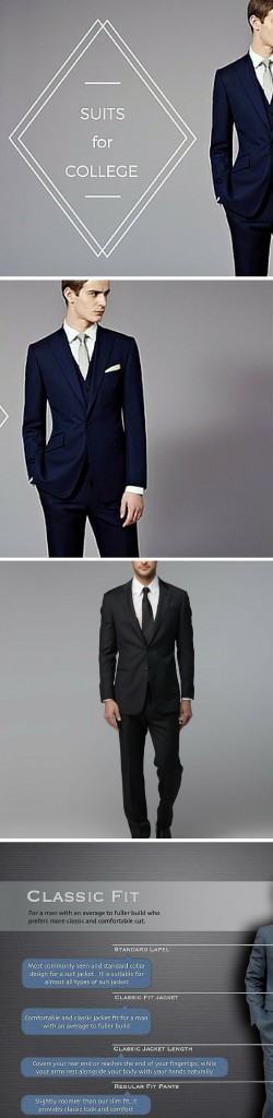 4 Tips For Buying Affordable Suits For College