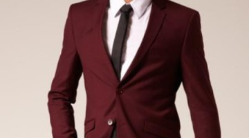 Two-Buttons-Burgundy-Color-Suit-9883