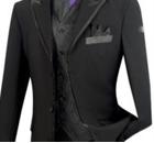 4 button tuxedo