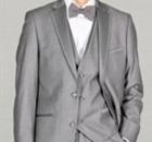Grey tuxedos