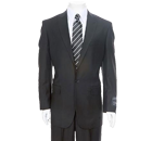 Liquid Black Formal Suits