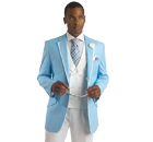 Sky Blue Tuxedo