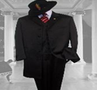 Jet Black Formal Suits